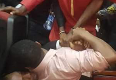 Breaking :Pandemonium as DSS rearrests Sowore In Court + Photo