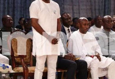 Breaking! Bayelsa Governor Elect, David Lyon Visits T.B. Joshua