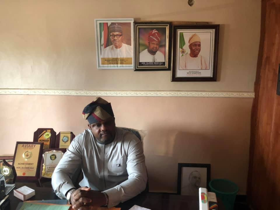 Video: Akinyele Local Government Chairman, Hon. Olumide Alli Resumes Office
