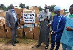 LAUTECH, BOWEN teaching hospitals, others receive N.216b medical equipment